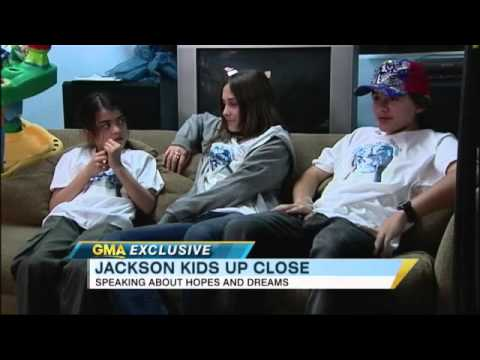 Prince, Paris, and Blanket Jackson; Two Years After Michael Jackson's Death 2/25/2011