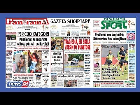 """17 gusht, 2019 """"Shtypi i dites"""" në News24 - """"Koha për t'u zgjuar"""" nga Edvin Parruca"""
