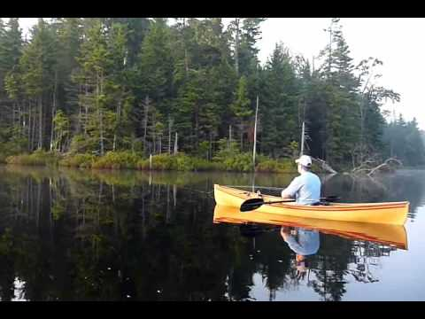 Fly Fishing with Solo Canoes   Global FlyFisher   Mike Hogue