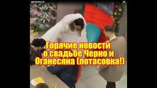 Горячие новости о свадьбе Оганесяна и Черно (потасовка). Дом2 новости