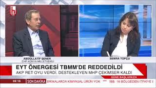 Semra Topçu ile Güne Başlarken  Abdüllatif Şener  Halk TV 25 10 2018