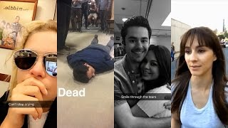 Pretty Little Liars 7x20 Table Reads | Behind the Scenes | Snapchat Videos