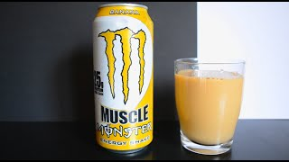 Muscle Monster Banana - Energy Drink Review