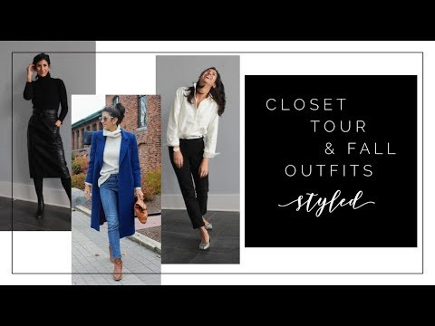 Seasonless Curated Closet Tour + New Items Styled For Fall Outfits | SLOW FASHION