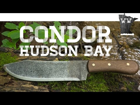 Condor Hudson Bay Test and Review | Large Survival Knife