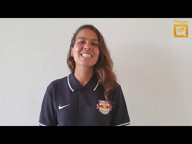Camila Orlando fala sobre estreia do Bragantino no Paulistão Feminino