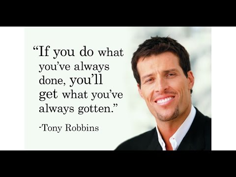Tony Robbins Online Self-Employment Workshop- FULL Webinar