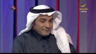 الشاعر سليمان المانع يلقي قصيدة قوية في الملك سلمان خلال برنامج ياهلا الليلة