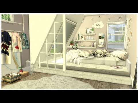 The Sims 4: Speed Build // TUMBLR BEDROOM