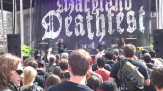 God Macabre - Consumed by Darkness (Live @ Maryland Deathfest 2014)