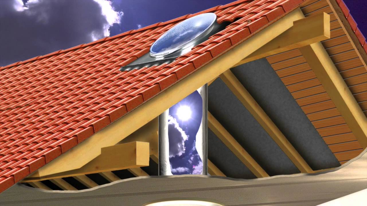 Original Talis Lichtkamin Bringt Sonnenlicht Ins Haus Youtube