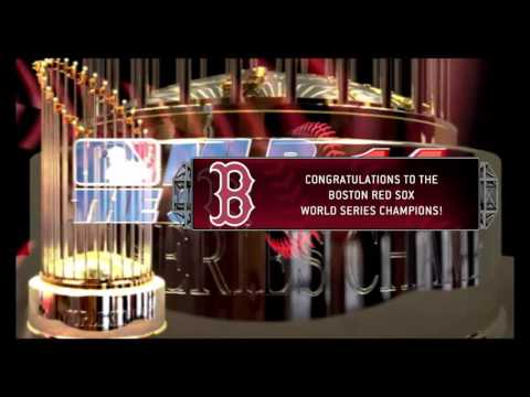 Red Sox win the World Series - MLB 14 The Show