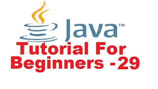 Java Tutorial For Beginners 29 - Java Interfaces