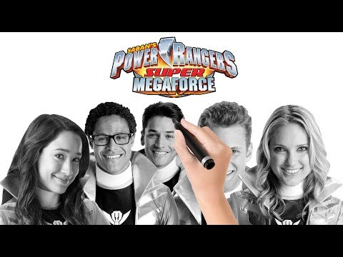 Power Rangers Super Megaforce Characters coloring pages