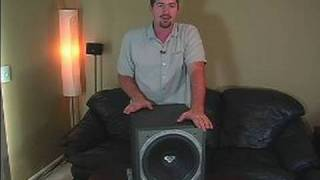 How to Set Up a Home Theater System : Choosing a Sub Woofer for a Home Theater
