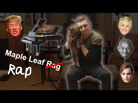 [EXPLICIT] Canadian raps over Maple Leaf Rag while playing piano #RapMeetsRagtime