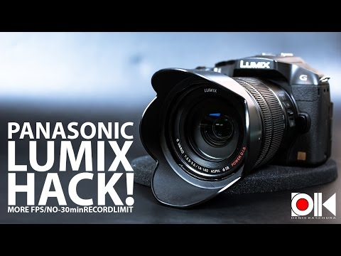 Panasonic Lumix HACK !  | G6 | G70 | GX7 | GX8 | GH3 | FZ1000 | LX100 and many more