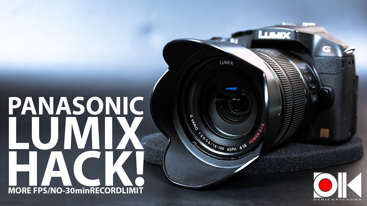 Panasonic Lumix HACK ! | G6 | G70 | GX7 | GX8 | GH3 | FZ1000 | LX100 and  many more