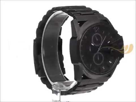 44bf06bf6c35 Reloj Diesel DZ4180 Mega Chief Blackout - YouTube