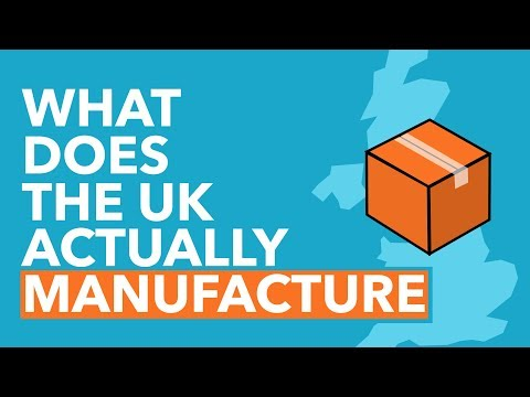 What Does The UK Actually Manufacture? - Data Dive