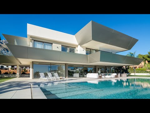 New Modern Luxury Villa in Sierra Blanca, Marbella, Spain   6.900.000 €