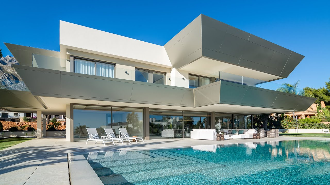 New modern luxury villa in sierra blanca marbella spain 6 900 000 €