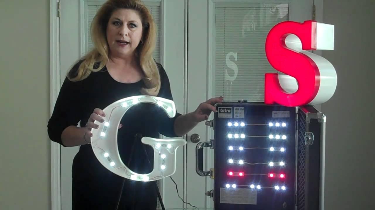 Bitro Led Channel Letter Lighting Presentation Youtube