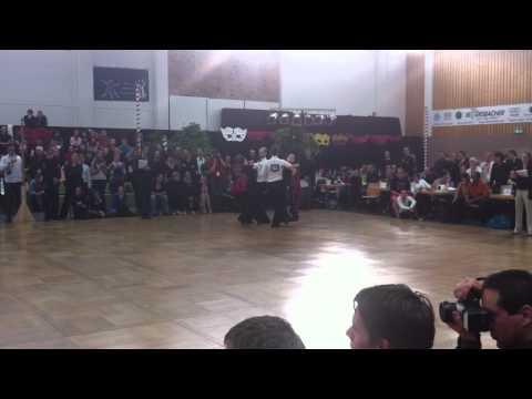 TG 1:2 semi final open ballroom ETDS Kaiserslautern 2011
