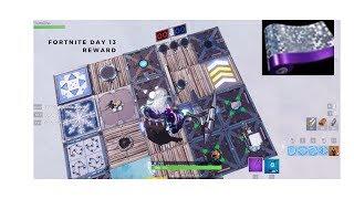 Fortnite Christmas Challenges Day 13 Récompenses (Placez des appareils sur une île créative)
