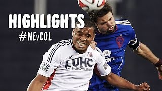 HIGHLIGHTS: New England Revolution vs. Colorado Rapids | July 30, 2014