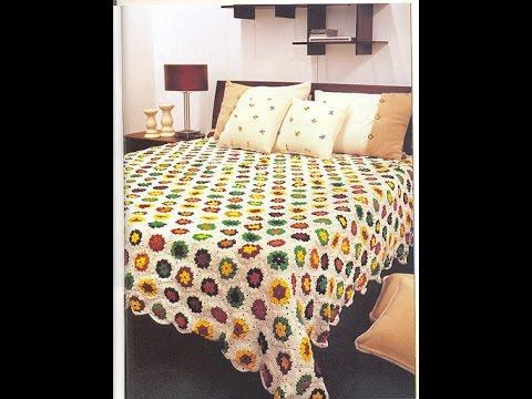 Crochet Bedspread Free Patterns Magazine 30 Youtube