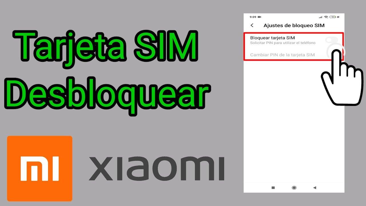 Tarjeta SIM Desbloquear en XIAOMI 2020