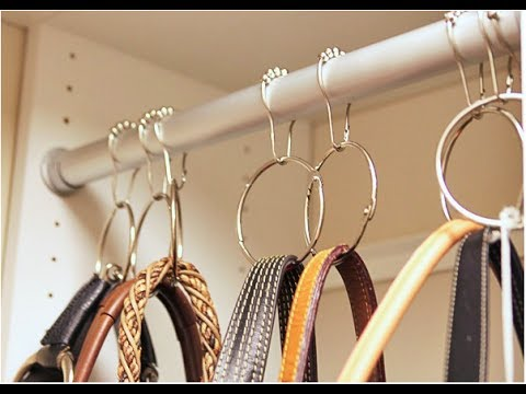 diy 100 storage idea of bag youtube. Black Bedroom Furniture Sets. Home Design Ideas