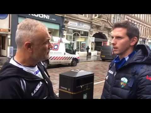 Steve Saunders ahead of Irn-Bru Cup Round 3 draw