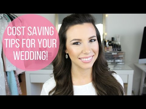 Cost Saving Tips For Your Wedding! | Wedding Ready | hayleypaige