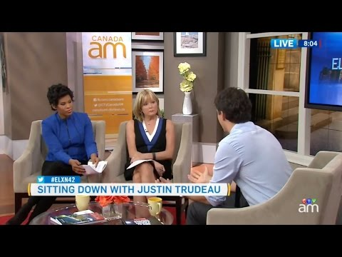 Liberal Party Leader Justin Trudeau Pre-election Interview - 09 Oct 2015
