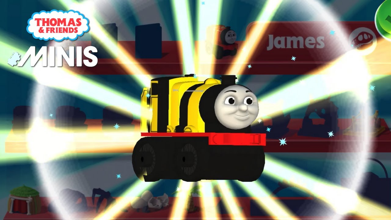 Thomas & Friends Minis 🚆 *THE MAGMA MANTLE Map!* COLLECT golden gears to unlock BUMBLE BEE JAMES!