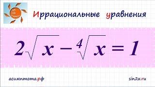 Иррациональные уравнения #3