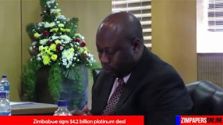 Zimbabwe signs $4 2 billion platinum deal thumbnail