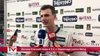 Giannelli dopo il 3-0 su Siena al debutto in SuperLega Credem Banca 2018/19
