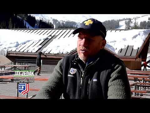 APEX SKI BOOTS National Ski Patrol Board Member Jay Zedak
