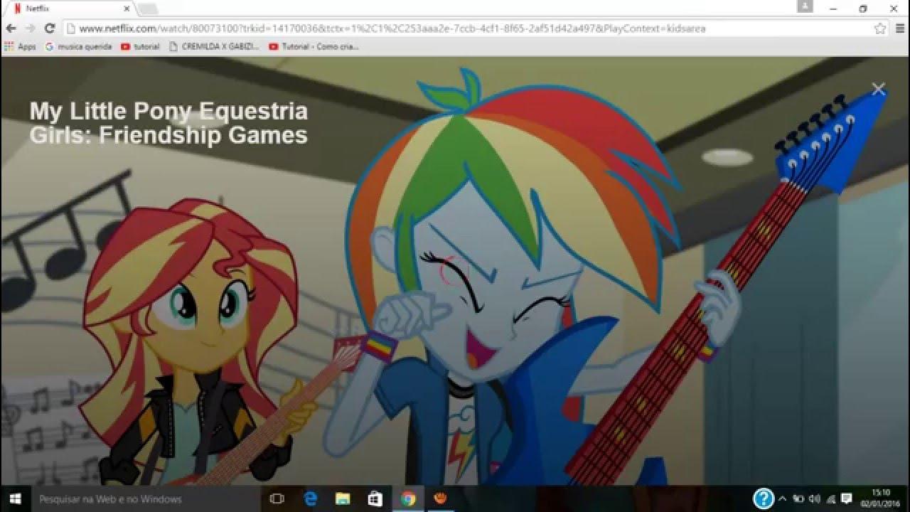 my little pony forgotten friendship netflix