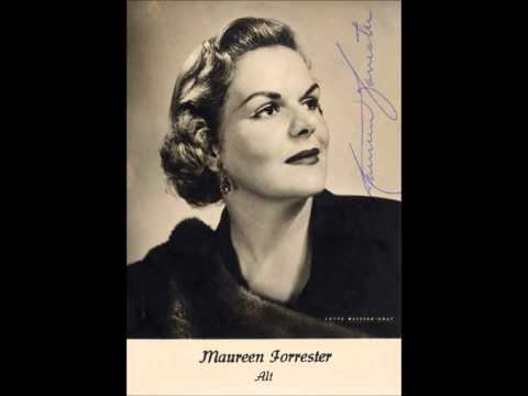 """Maureen Forrester """"Rückert-Lieder"""" Mahler"""