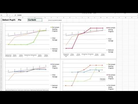 RDW Primary Pupil Objective Tracker Tutorial