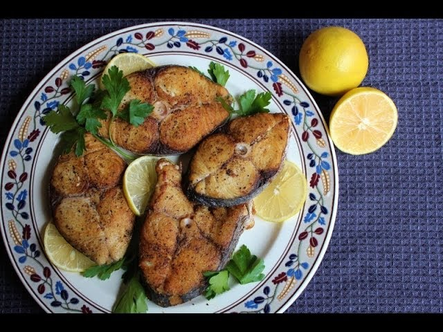 Jamaican Fried King Fish