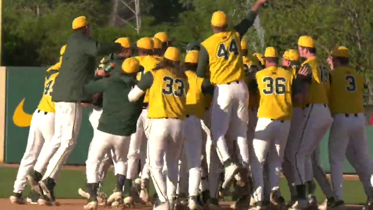 Bears walk it off again to take the series from Oklahoma