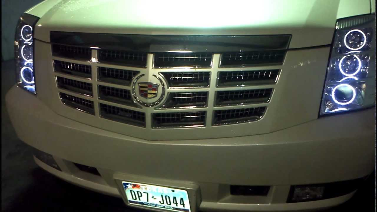 Bgncustoms Aac Style Oracle Lights 2010 Cadillac Escalade You