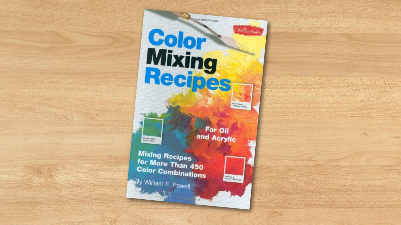 Color Mixing Recipes Pdf