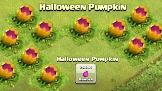 NEW HALLOWEEN SCARY PUMPKIN OBSTACLE! - Clash of Clans OCTOBER UPDATE - CoC Halloween Update 2016!