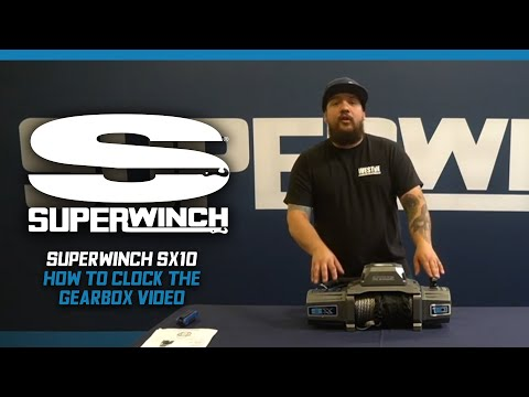 """Superwinch SX Series Winch """"How To Clock the Gearbox"""""""